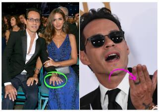 Marc ya no usa el anillo de bodas y en la noche de su homenaje festejó con JLo