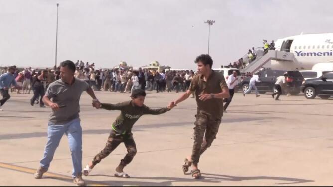 El momento de la explosión: ataque en un aeropuerto deja decenas de muertos y heridos