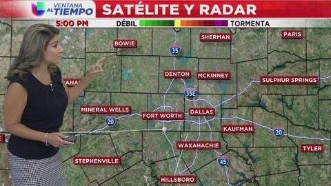 Ventana al Tiempo: Así estarán las condiciones climáticas este viernes en Dallas