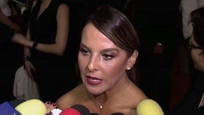 """Así se le vio a Kate del Castillo a un día de molestarse con un reportero que le dijo """"mi amor"""""""