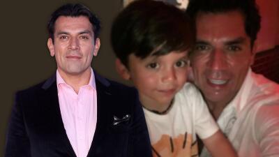 El mellizo de Jorge Salinas parece un clon de su famoso papá