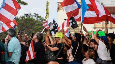 Estudiantes, sectores populares y varios artistas protestaron en Puerto Rico exigiendo la renuncia de Rosselló
