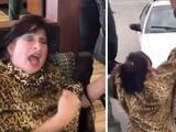 """""""Me estás secuestrando"""": video capta reacción de una mujer en Florida mientras la arrestan por no usar mascarilla"""