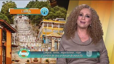 Mizada Libra 12 de enero de 2018
