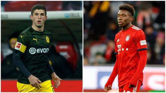 Transacciones invernales de jugadores del continente americano en el fútbol alemán