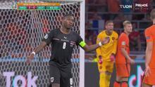 ¡Sin puntería! Alaba no logra recortar el marcador ante Holanda
