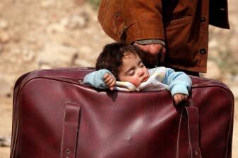 Los niños sirios sufren la crueldad de la guerra en Guta Oriental (fotos)