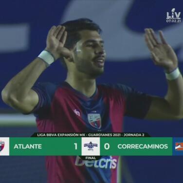 Atlante consigue su primera victoria a costa de Correcaminos