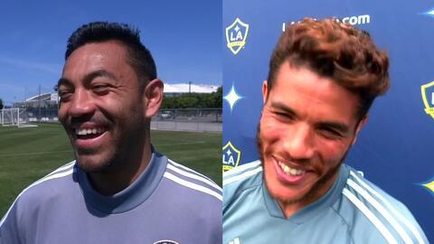 Entre risas y apuestas, Jonathan dos Santos y Marco Fabián, calientan duelo mexicano en la MLS