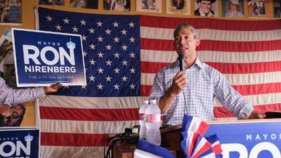 Ron Nirenberg  toma la delantera en los resultados de las elecciones anticipadas