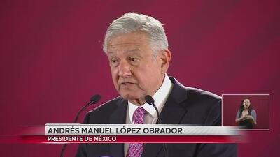 Presidente de México asegura que el país va bien y de buenas