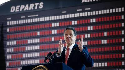 Gobernador Andrew Cuomo se postulará para un cuarto mandato en el 2022