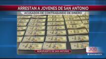 Dos jóvenes mexicanos son detenidos por contrabando de dinero