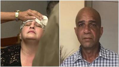 En video: se desmaya en la corte la pareja del hombre que murió tras el incidente con el actor Pablo Lyle