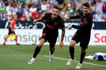 En fotos: Con anotación de Vitolo, el Atlético de Madrid triunfa sobre el Leganés