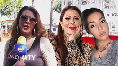 """Alicia Machado le envía un consejo tanto a Alejandra Guzmán y Frida Sofía """"para que no se fomente el odio"""""""