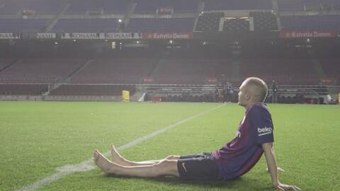 Andrés Iniesta confiesa que anhela regresar al Barcelona