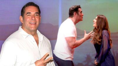 Eduardo Santamarina confiesa si Mayrín Villanueva se enojó porque se subió al 'potro del amor' con otra