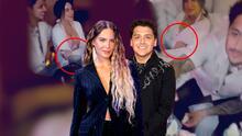 Los gestos de Belinda que hacen pensar que está embarazada de Christian Nodal