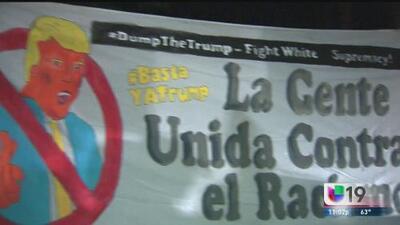 Manifestaciones acaloradas por la visita de Mike Pence a Sacramento