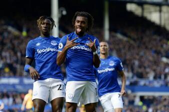 En fotos: primera derrota de Wolverhampton ante el Everton