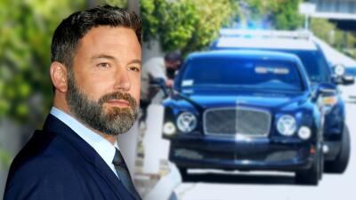 Ben Affleck tiene un nuevo encuentro con la policía mientras manejaba por una autopista de Los Ángeles