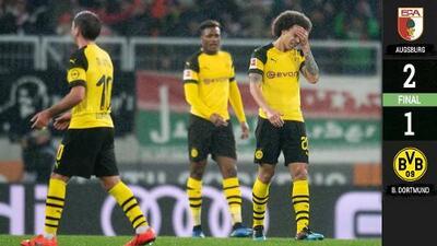 Augsburg 2-1 Dortmund – GOLES Y RESUMEN – Jornada 24 – Bundesliga
