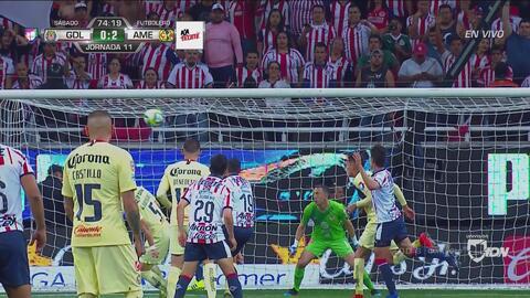 De milagro Chivas no recortó el marcador