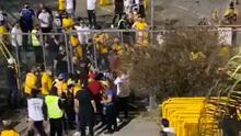 Aficionados de Tigres presuntamente golpearon a fan de Rayados