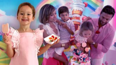 Fotos exclusivas del colorido y encantador cumpleaños de Alana, la hija menor de Satcha Pretto