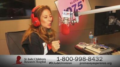 St Jude llega a Univision Radio Los Angeles
