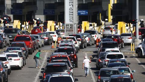 Medidas de Trump para detener a los migrantes en la frontera generan caos vehicular y retrasos en las operaciones comerciales