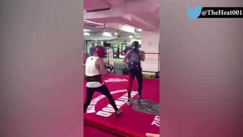 Un sparring evidenció el nivel de boxeo de Conor McGregor