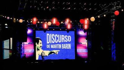 Discurso íntegro de Martin Baron en la entrega de premios del Festival Gabo