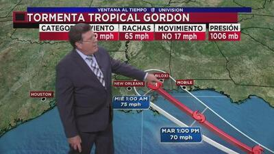 Precipitaciones se acercan al sur de Georgia