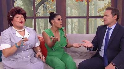 Doña Meche descubrió los mensajes amorosos (y no tan secretos) que Rafael Araneda manda a una mujer por TV