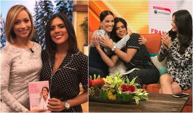 De la risa al llanto: Francisca Lachapel llegó lista para presentar su libro 'Una reina como tú' (fotos)