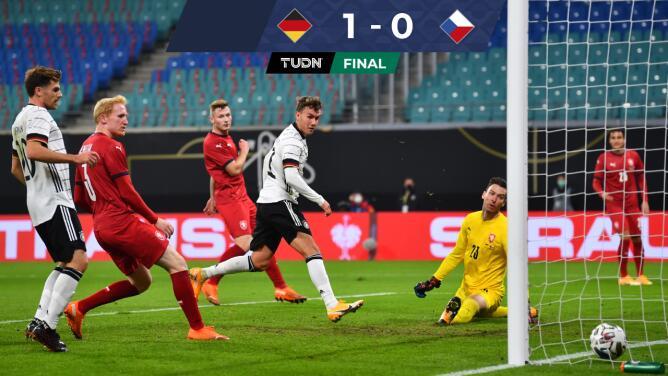 Resumen | Alemania supera sin problemas 1-0 a República Checa