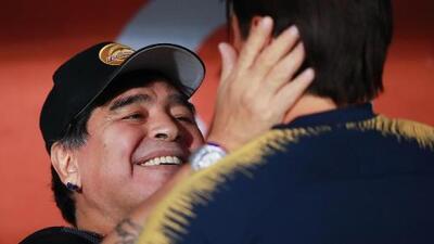 """Maradona está enamorado de los mexicanos: """"Hay jugadores con una calidad impresionante"""""""