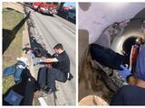 Rescatan a hombre que estuvo atrapado en un túnel de drenaje durante dos días