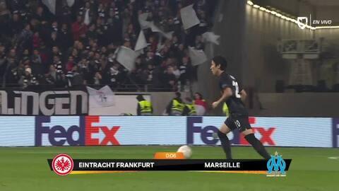 Highlights: Marseille at Eintracht Frankfurt on November 29, 2018
