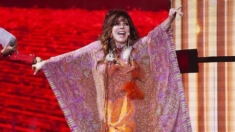 Asì fue el regreso de Verónica Castro a la television