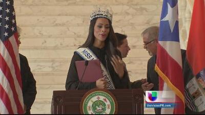 Reconocen a Génesis Dávila en el Capitolio de Puerto Rico