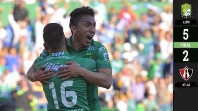 León 5-2 Atlas - RESUMEN Y GOLES – Clausura 2019 Liga MX