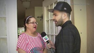Jomari le cambia el look a la fan número uno de Univision