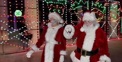 Santa Claus da positivo al covid-19 tres días después de haberse tomado fotos con unos 50 niños en Georgia