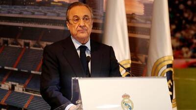 """Las palabras de bienvenida de Florentino Pérez a Eden Hazard: """"Tu fútbol es especial, es distinto"""""""