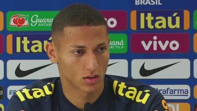 Richarlison confesó que llega a la selección de Brasil con más madurez