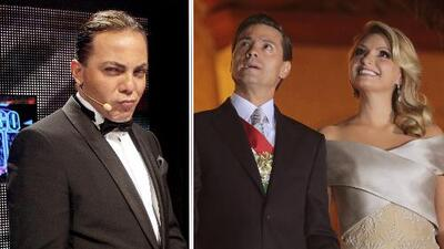 Cristian Castro ahora es muy amigo de Enrique Peña Nieto y la Gaviota