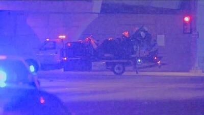 Un conductor que huía de la policía chocó contra un auto y mató a su ocupante